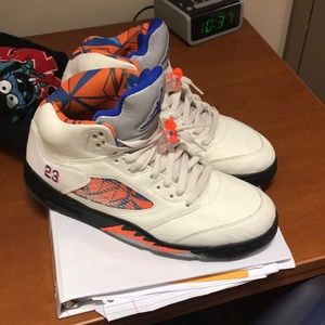 Size 10.5  Retro Jordan 5s